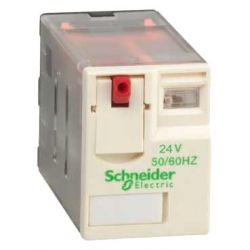 Реле Schneider Electric TE-LEC RXM4AB1B7 РЕЛЕ 4 CO 24В переменного тока