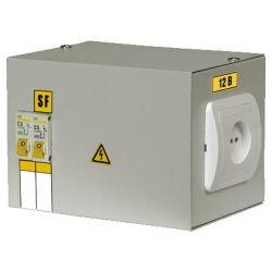 Ящик с понижающим трансформатором IEK ЯТП-0,25 220/12 2 автомата