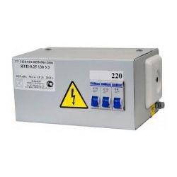 Ящик с понижающим трансформатором Техэнерго ЯТП- ОСО 0,25 220/36В 2 автомата