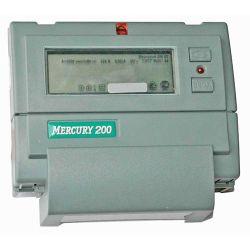 Счетчик Меркурий - 200.02 5(60)А 1-фазный, 2 тарифный