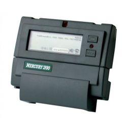 Счетчик Меркурий - 200.04 5-60А DIN ЖКИ CAN PLC 1 фазный, 2 тарифный