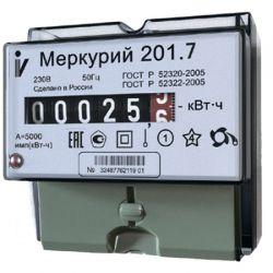 Счетчик Меркурий - 201.7 5(60)А DIN ОУ 1 тарифный