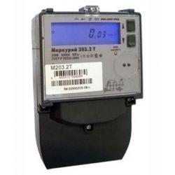 Счетчик Меркурий - 203.2Т (RBO) 5-60А 1фазный 1 тарифный с профилем мощности