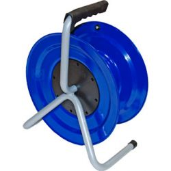 Катушка удлинителя пластиковая 240мм 4гнезда с заземляющими контктами (пустая) (под пайку) 1243