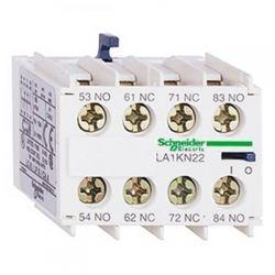 Дополнительный контактный блок Schneider TE-TeSys LA1KN22 блок доп.конт. 2НО+2НЗ винтовой зажим