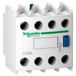 Дополнительный контактный блок Schneider TE-TeSys LADN40 4НО фронтальный монтаж винт