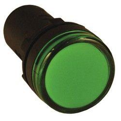 Арматура светосигнальная EKF AD16-22HS 220В (зеленая)