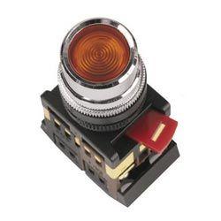 Арматура светосигнальная IEK ABLF-22 (красная) неон кнопка 1з+1р d22mm 240B