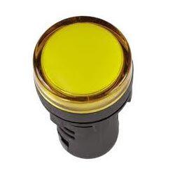 Арматура светосигнальная IEK AD-22DS 230В (жёлтая) светодиод