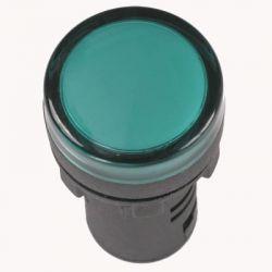 Арматура светосигнальная IEK AD-22DS 230В (зелёная) светодиод