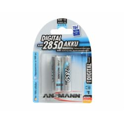 Аккумулятор Ansmann R6 2850mAh AA BP2 Digital Professional 5035082-RU