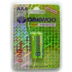 Аккумулятор DAEWOO R03 /( 600mAh) NI-MH BL-2