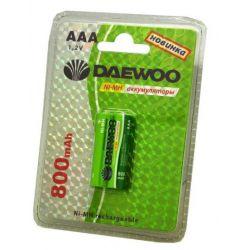 Аккумулятор DAEWOO R03 /( 800mAh) NI-MH BL-2