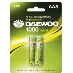 Аккумулятор DAEWOO R03 /(1000mAh) NI-MH BL-2