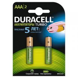 Аккумулятор DURACELL HR03 BL2 850/900 mAh
