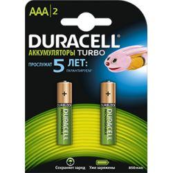 Аккумулятор DURACELL HR6АА BL2 2400/2500 mAh