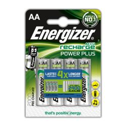 Аккумулятор ENERGIZER Rech Power Plus HR6 AA BL-4 2000 mAh