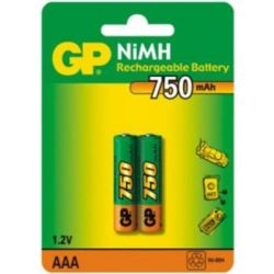 Аккумулятор GP R03 /75AAAHC NiMH 750 mAh BP-2