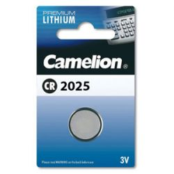Элемент питания CAMELION CR2025 Litium BP1