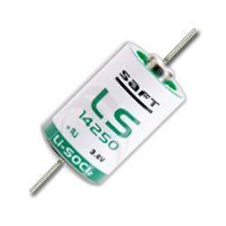 Аккумулятор Saft LS14250/350 CNA 3.6V Litium (1/2AA) 14,4 х 25 с выводами