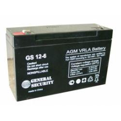 Аккумулятор T/A-POWER/PG/GS 6V 12 Ah