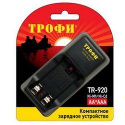 Зарядное устройство ТРОФИ TR-920 2 слота