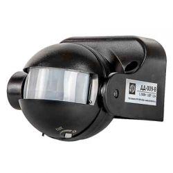 Датчик движения ASD ДД-009-B 1200Вт 180 градусов 12м IP44 черный