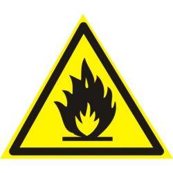 """Знак TDM """"Пожароопасно"""" 150х150мм """" (лист - 2шт)"""