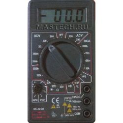 Мультиметр ФАЗА М-838