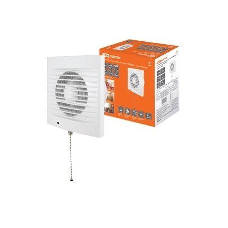 Вентилятор TDM бытовой настенный 100 СВ, с выключателем