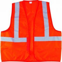 Жилет сигнальный, оранжевый, размер XL// СИБРТЕХ