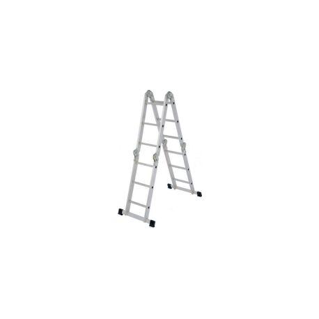 Лестница-трансформер Алюмет 4*3 алюминиевая 0,94/1,77/3,54м облегченная / TL4033