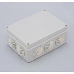 Короб распаечный ТУСО 67055 ОП 10 вводов. IP55 200*140*75 мм. 192029