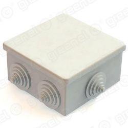 Короб распределительный Greenel ОП 85х85х40мм IP44 6 входа GE41235 серый GE41235