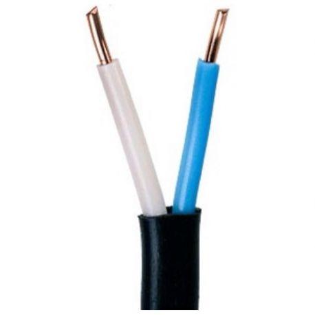 ВВГ - 0,66 2х1,5 плоский кабель (Бухта 10м)