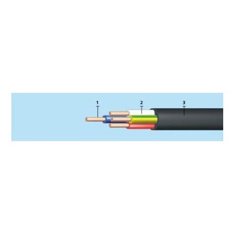 ВВГ - 0,66 4х1,5 кабель