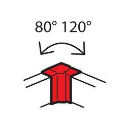 Внутренний угол Legrand 638031 100x50мм METRA