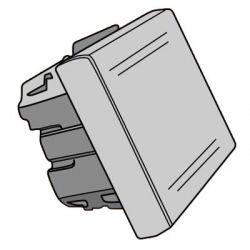 Выключатель DKC 45021 «Viva» однополюсный 2 модуля, белый