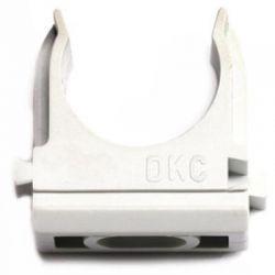 Держатель-клипса с защелкой DKC 51025 д.25мм