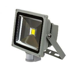 Прожектор светодиодный ASD СДО-2Д-10 10Вт 230В 6500К 800Лм с датчиком движения IP44