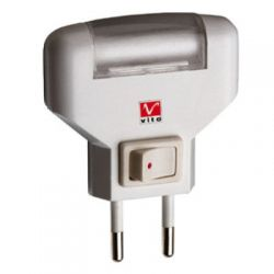 Ночник Vito VT-801 фиолетовый, пурпурный