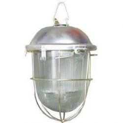 Светильник TDM НСП 02-100-002.01 У2 (с решеткой, стекло, крюк)