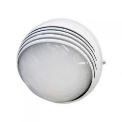 Светильник IEK НПП1107 белый/круг ресничка 100Вт IP54