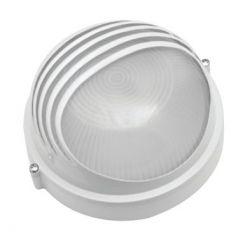 Светильник Navigator NBL-R3-100-E27 белый круглый реснички 94 819
