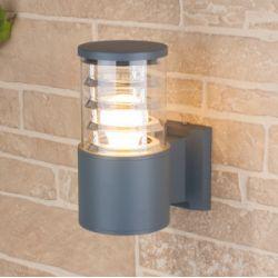 Светильник садово -парковый Elektrostandard 1408 TECHNO серый