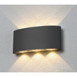 Светильник садово -парковый Elektrostandard 1551 TECHNO LED TWINKY TRIO серый