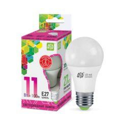Светодиодная лампа ASD LED-A60-standard 11Вт 230В Е27 6500К 990Лм
