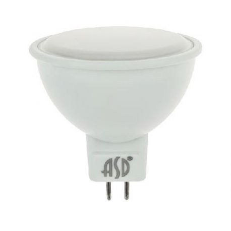 Светодиодная лампа ASD LED-JCDR-standard 7.5Вт 230В GU5.3 3000К 675Лм