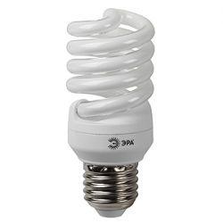 Компактная люминесцентная лампа ERA SP-M-15Вт-842-E27 яркий белый свет (019367)
