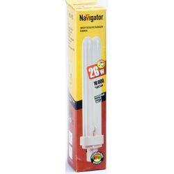 Компактная люминесцентная лампа Navigator NCL-PD-26-840-G24d3 26Вт 94 076
